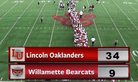 Lincoln University Oaklanders defeated the Bearcats